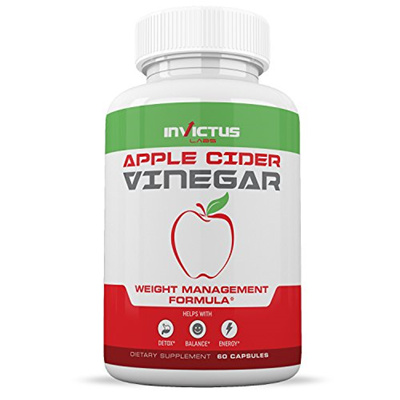 Invictus Labs Extra Strength Apple Cider Vinegar Pills All Natural Weight Loss Digestion Circul