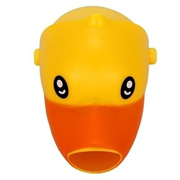 Faucet Extender Baby Kids Toddler Hand Washing Bathroom Sink Gift Yellow Duck