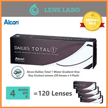 [Free Shipping] Alcon Dailies Total 1 Water Gradient One-Day Contact Lenses (30 lenses) x4