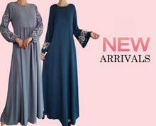 [SG SELLER] Crepe Jubah Dress BF Friendly Ladies Maxi Muslimah (Updated 07Nov18)