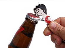 2014 Brazil Worldcup Souvenir Player Suarez Bite Beer Bottle Opener Key Chain