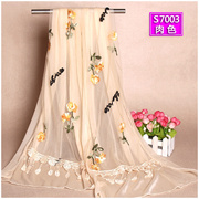 Every day special price autumn and winter new computer embroidery scarf female