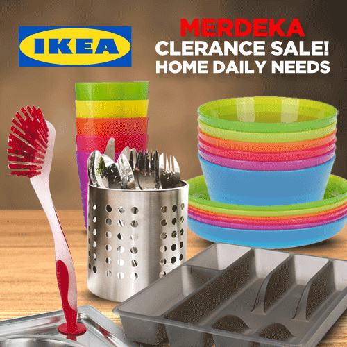 [ IKEA SALE ] HYGIENE KITS / CUTLERY IKEA Deals for only Rp9.000 instead of Rp9.000