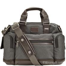 Tumi TUMI ALPHA BRAVO Brooks Slim Brief Briefcase 2way Shoulder Polyester Anthracite 0222619at2 【Luxury Brand Sel
