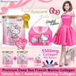 TAIWAN NO.1 AWARD WINNING Collagen [2 MONTHS SUPPLY+FREE 5 DAYS!]funcare®Unique Patented Formula Collagen★Hello Kitty Limited Edition Added with Pearl Powder★Calcium Vitamin C Probiotic