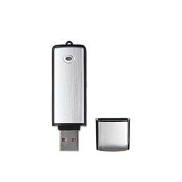 U-disk Digital Mini Audio Sound Recorder 16GB Professional Voice Activated Record Dictaphone USB Rec