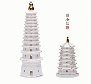 New arrive Ceramic Pagoda For Career/Study/For Home Fengshui