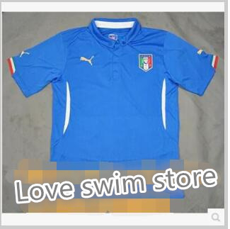 new style 2b9eb ad279 15-16 Italy national team jersey Home Player Version soccer jersey Pirlo  Suit M DIY customization