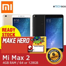[6 MTHS WARRANTY] MI MAX 2 | GOLD/BLACK | 6.4inch Display 64/128|GLOBAL ROM | LOCAL BESTSELLER