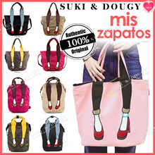 【Buy2FreeShip】100% AUTHENTIC MIS ZAPATOS 💕3-WAY BACKPACK TOTE SHOULDER BAG 💕 luggage travel bag