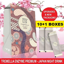 BUY 10 FREE 1 DEAL- NEW PACKAGING Tremella Upgraded Tremella-Dx+ Detox  日本排毒酵素 (16 Bags x 20gm)