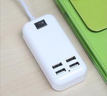 Cas USB 4 in 1 Colok AC DC Colokan Handphone HP Samsung Oppo Xiaomi BB