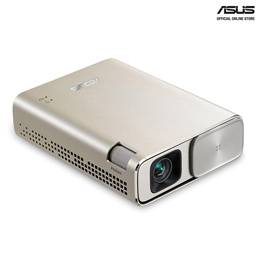 ASUS ZenBeam Go E1Z USB Pocket Projector 150 Lumens Built-in 6400mAh Battery Up to 5-hours