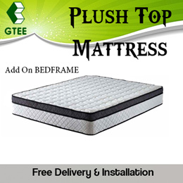 Queen Size Spring and Foam Mattress   Single/Super Single/Queen/King   OPTIONAL BED FRAME AVAILABLE