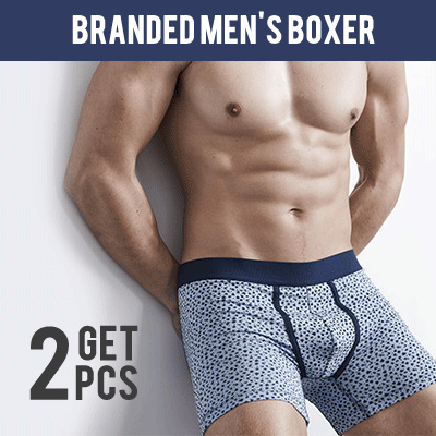 New! Paket 2 Pcs Mens Boxer Deals for only Rp85.000 instead of Rp85.000