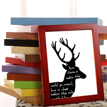 solid wood photo frame home deco house warming gift