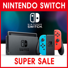 [Make $480 !!] Nintendo Switch with  Gray Joy-Con Neon Blue and Neon Red Joy-Con