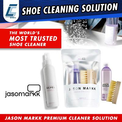 9268d695e JASON MARKK PREMIUM SHOE CLEANER CLEANING SOLUTION + BRUSH  REPEL PREMIUM  STAIN WATER REPELLENT