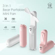 [Agoramart] 3 IN 1 Bear Portable Mini Fan