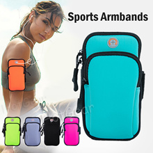 Armband / Waist Pouch ◆ for Running Cycling Workout Sports ◆ Fits Most Phones【SG Fast Delivery】