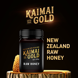 [SUPER SALE] 100% PURE New Zealand Raw Honey 500g