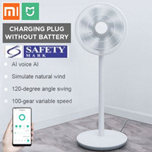 💖READY STOCK💖 Mijia Floor standing Fan DC Frequency Conversion Electric plug version no battery