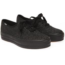 2ef951de3ec7f  Keds  TRIPLE GLITTER SMU (WF 522399) Black (BK) sneakers