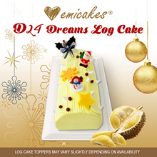 [Emicakes] D24 Dreams Log Cake 700-750g