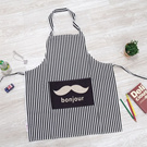★Launching Promotion★ Modern Stripe Fashion Apron/Kitchen Apron/Cotton Apron/Gift Idea