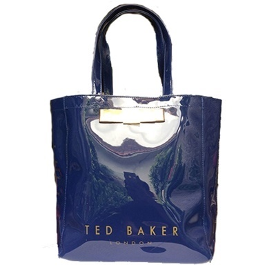 Tote - Bow Tore Shining Blue
