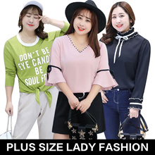 Plus size / women fashion lovely dress / tops / high quality / Look thin /professional