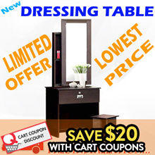 [SUPER SALE] DRESSING TABLE_LOW PRICE!!! FREE DELIVERY AND FREE INSTALLATION!!! LIMITED OFFER!!!