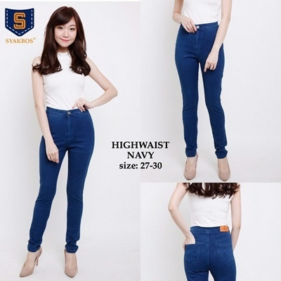 Highwaist navy