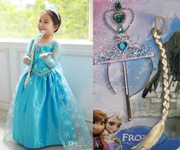 Accessories Rambut / FROZEN/Hello Kitty/Sofia Bowrambut kepang/tongkat/crown/elsa anna