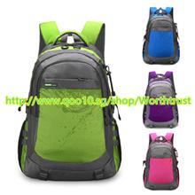 新露營徒步旅行背包戶外登山中性背包防水背包登山包