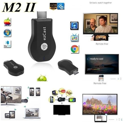 M2 EzCast TV Stick HDMI 1080P Miracast DLNA Airplay WiFi Display Receiver  Dongle Support Windows 7/8