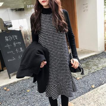 [55555SHOP]★韓国ファッション通販業界1位 『Naning9』★ レブルロンワンピース / おしゃれなシルエットのファッションコーデー提案!ハイクォリティー/韓国ファッション/オフィスルック