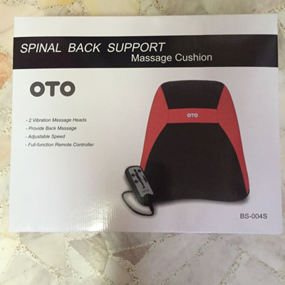 Brand New Original OTO Spinal Back Support Massage Cushion BS004S. Local SG Stock and warranty !!