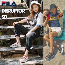 [FILA] ♥Use Qoo10 Coupon♥ DISRUPTOR SANDAL / DRIFTER JACKED UP SD SANDLE 7TYPE FS1SPA2002X FS1SPA2003X UNISEX