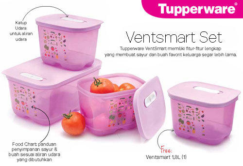 VENTSMART SET (NEW PRODUCT) TUPPERWARE