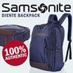 100% Authentic Samsonite Backpack / Laptop Backpack / Bag /Navy+Coffee color available / Unisex / By VALUEMALL