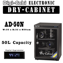 50L Digi Cabi Electronic Dry Cabinet | AD-50N | 5 Years Warranty | FOR DSLR CAMERA INSTRUMENTS LENSE