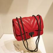 79ea704d98 2019 Korea Stylish Chain Sling Back / Buckle Sling Bag / Chain Bag