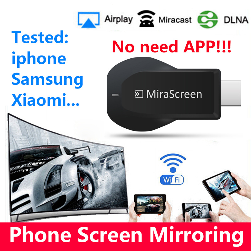 E5s wireless display wifi TV Stick Miracast Airplay Mirroring DLNA for  iPhone xiaomi windows to HDTV projector
