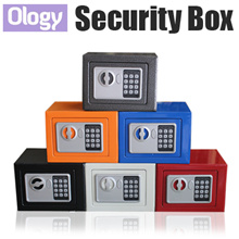 Premium Portable Digital Security Box Safety Storage Jewellery Gold Safe Organizer Boxes