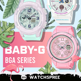*APPLY 25% OFF COUPON* CASIO BABY-G BGA SERIES! Free Shipping and 1 Year Warranty!