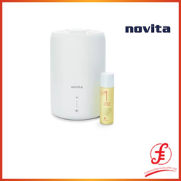 Novita Humidifier 107ft² NH810 Bundle with Air Purifying Solution Concentrate  Anti-Bac Spray (810 n