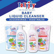Tollyjoy Baby Accessories and Vegetable Liquid Cleanser (Original/ Antibacterial)