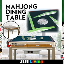 ★Automated Folding Mahjong Tables ★SG Style ★148 Tiles ★Usb Charge ★Dining Table ★Magnetic Tiles