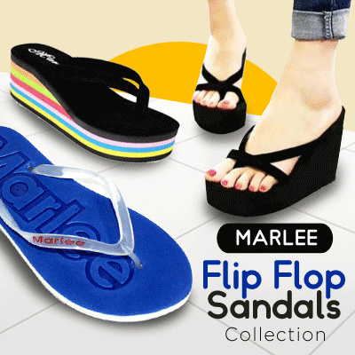 PEAK DAYS PROMOTION MARLEE FLIP FLOP SANDALS // FLAT SHOES // WEDGES SANDAL